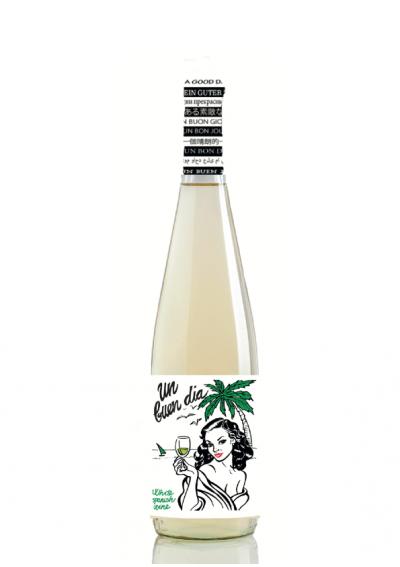 vino blanco dulce  Blanco Un Buen Dia